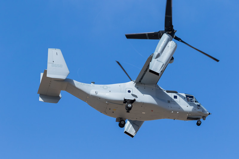 -(Aircraft) Bell-Boeing MV-22B Osprey <br /> -(Nation & Service) United States Marine Corps<br /> -(Squadron)<br /> -(Home Base)