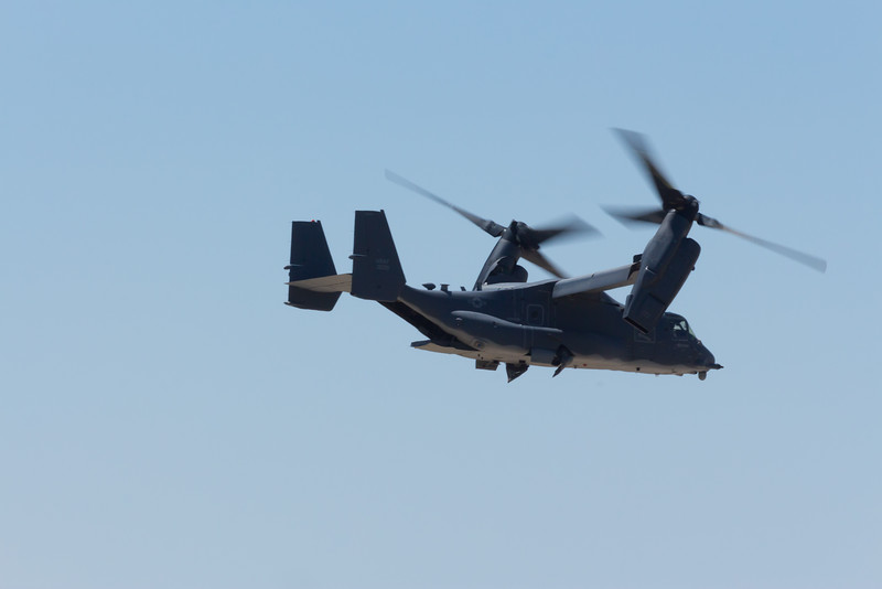 "-(Aircraft) Bell CV-22B Osprey <br /> -(Nation & Service) United State Air Force <br /> -(Squadron) 20th Special Operations Squadron ""Green Hornets""<br /> -(Home Base) Cannon Air Force Base, New Mexico"