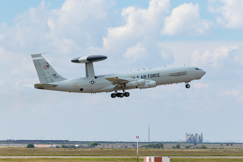 -(Aircraft) Boeing E-3B Sentry<br /> -(Nation & Service) United States Air Force<br /> -(Squadron) 552d Air Control Wing<br /> -(Home Base) Tinker Air Force Base, Oklahoma