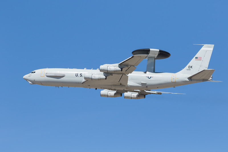 -(Aircraft) Boeing E-3B Sentry <br /> -(Nation & Service) United States Air Force<br /> -(Squadron) 552d Air Control Wing<br /> -(Home Base) Tinker Air Force Base, Oklahoma