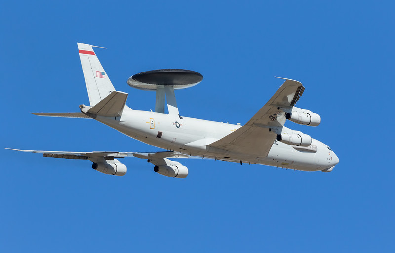 "-(Aircraft) Boeing E-3G Sentry <br /> -(Nation & Service) United States Air Force <br /> -(Squadron) 963rd Airborne Air Control Squadron ""Blue Knights"" <br /> -(Home Base) Tinker Air Force Base, Oklahoma"