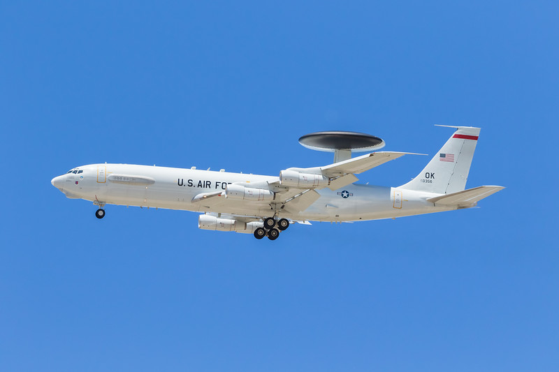 -(Aircraft) Boeing E-3B Sentry<br /> -(Nation & Service) United States Air Force<br /> -(Squadron) 965th Airborne Air Control Squadron <br /> -(Home Base) Tinker Air Force Base, Oklahoma