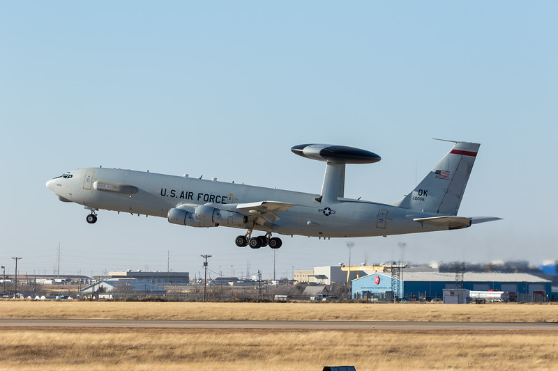 -(Aircraft) Boeing E-3C Sentry <br /> -(Nation & Service) United States Air Force<br /> -(Squadron) 965th Airborne Air Control Squadron <br /> -(Home Base) Tinker Air Force Base, Oklahoma