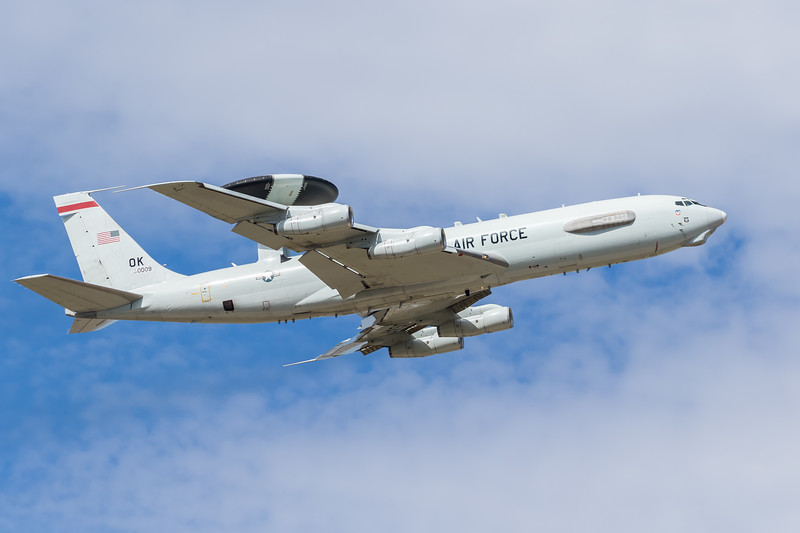 -(Aircraft) Boeing E-3C Sentry<br /> -(Nation & Service) United States Air Force<br /> -(Squadron) 960th Airborne Air Control Squadron<br /> -(Home Base) Tinker Air Force Base, Oklahoma