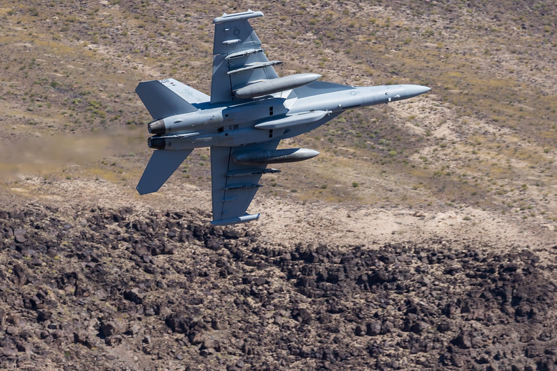 "-(Aircraft) Boeing EA-18G Growler<br /> -(Nation & Service) United States Navy<br /> -(Squadron) Air Test and Evaluation Squadron 31 ""Dust Devils""<br /> -(Home Base) Naval Air Weapons Station China Lake, California"