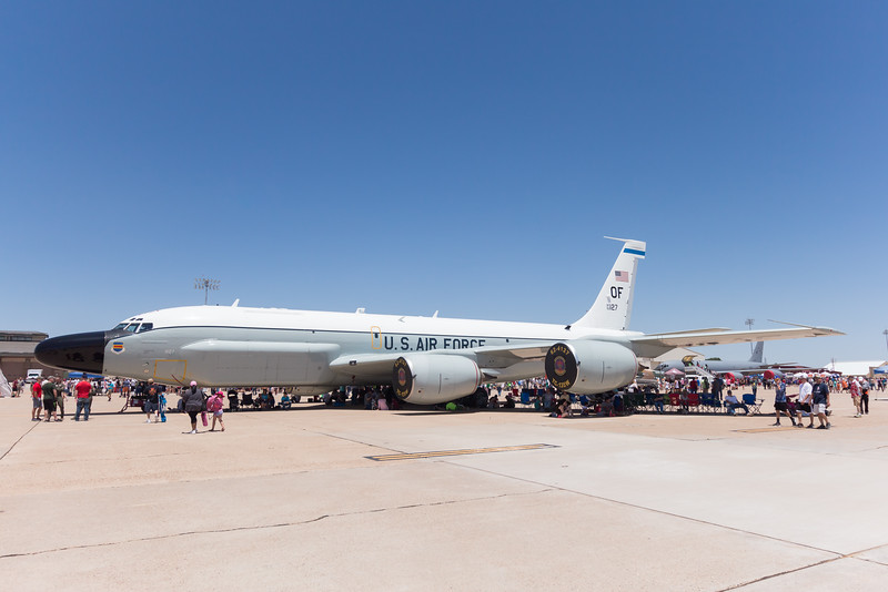 -(Aircraft) Boeing TC-135W River Joint<br /> -(Nation & Service) United States Air Force<br /> -(Squadron) 45th Reconnaissance Squadron<br /> -(Home Base) Offutt Air Force Base, Nebraska