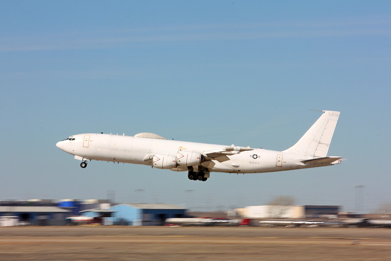 "-(Aircraft) Boeing E-6B Mercury <br /> -(Nation & Service) United States Navy<br /> -(Squadron) Fleet Air Reconnaissance Squadron 4 ""Shadows"" <br /> -(Home Base) Tinker Air Force Base, Oklahoma"