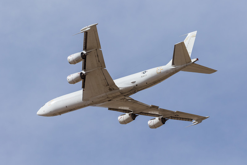 "-(Aircraft) Boeing E-6B Mercury <br /> -(Nation & Service) United States Navy<br /> -(Squadron) Fleet Air Reconnaissance Squadron 4 ""Shadows""<br /> -(Home Base) Tinker Air Force Base, Oklahoma"