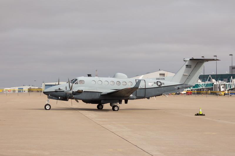 -(Aircraft) Beechcraft MC-12W Liberty <br /> -(Nation & Service) United States Air Force<br /> -(Unit) 185th Special Operations Squadron <br /> -(Home Base) Will Rodgers Air National Guard Base, Oklahoma