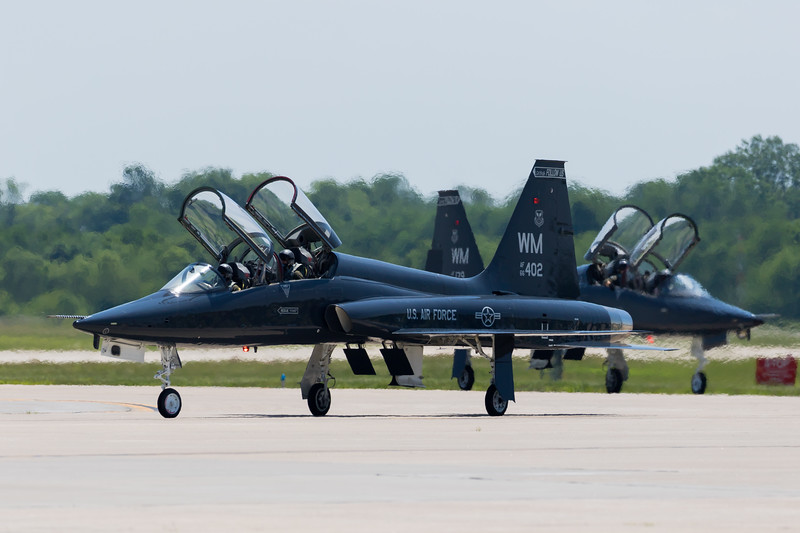 -(Aircraft) Northrup T-38 Talon<br /> -(Nation & Service) United States Air Force<br /> -(Squadron) 394th Combat Training Squadron<br /> -(Home Base) Whiteman Air Force Base, Missouri