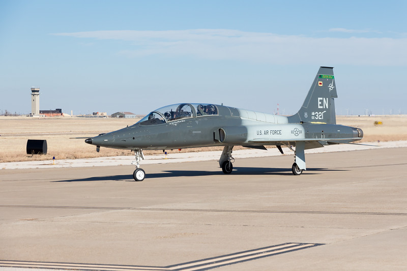 -(Aircraft) Northrop T-38C Talon<br /> -(Nation & Service) United States Air Force <br /> -(Squadron) 469th Flying Training Squadron <br /> -(Home Base) Sheppard Air Force Base, Texas
