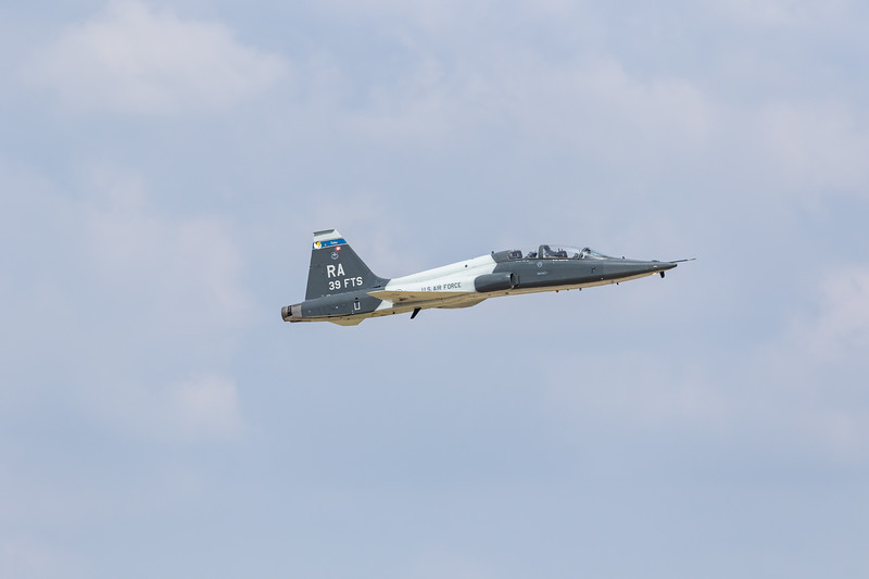 -(Aircraft) Northrop T-38C Talon<br /> -(Nation & Service) United States Air Force<br /> -(Squadron) 39th Flying Training Squadron <br /> -(Home Base) Randolph Air Force Base, Texas