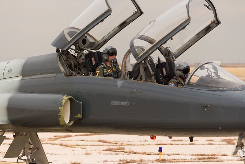 "-(Aircraft) Northrop T-38C Talon<br /> -(Nation & Service) United States Air Force <br /> -(Squadron) 469th Flying Training Squadron ""Fighting Bulls""<br /> -(Home Base) Sheppard Air Force Base, Texas"