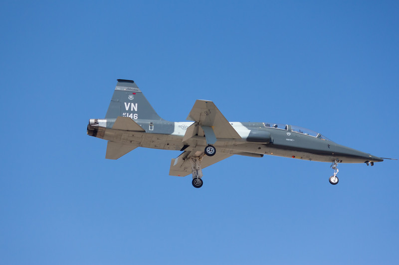 """-(Aircraft) Northrop T-38C Talon<br /> -(Nation & Service) United States Air Force<br /> -(Squadron) 25th Flying Training Squadron """"Shooters""""<br /> -(Home Base) Vance Air Force Base, Oklahoma"""