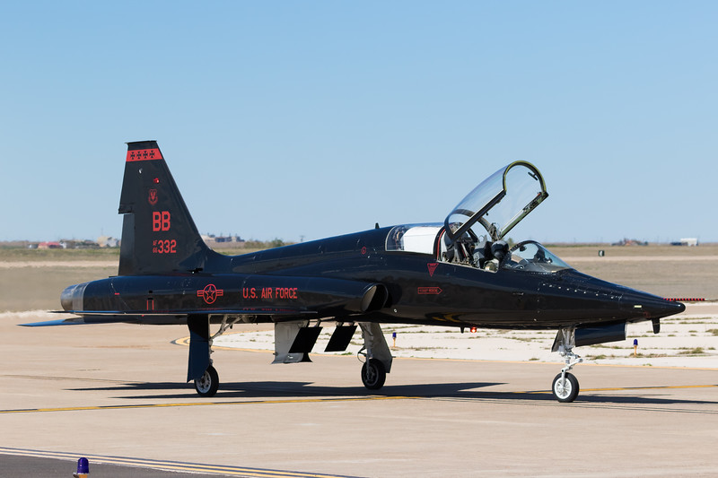 -(Aircraft) Northrop T-38 Talon<br /> -(Nation & Service) United States Air Force<br /> -(Squadron) 1st Reconnaissance Squadron<br /> -(Home Base) Beale Air Force Base, California
