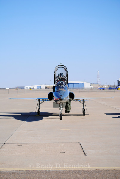 "-(Aircraft) Northrop T-38C Talon <br /> -(Nation & Service) United States Air Force<br /> -(Squadron) 90th Flying Training Squadron ""Boxing Bears<br /> -(Home Base) Sheppard Air Force Base, Texas"