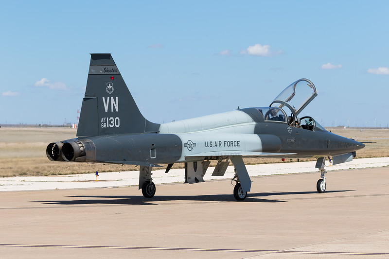 "-(Aircraft) Northrop T-38C Talon<br /> -(Nation & Service) United States Air Force<br /> -(Squadron)  25th Flying Training Squadron ""Shooters:<br /> -(Home Base) Vance Air Force Base, Oklahoma"