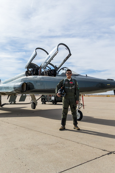 "-(Aircraft) Northrop T-38C Talon<br /> -(Nation & Service) United States Air Force<br /> -(Squadron) 25th Flying Training Squadron ""Shooters""<br /> -(Home Base) Vance Air Force Base, Oklahoma"