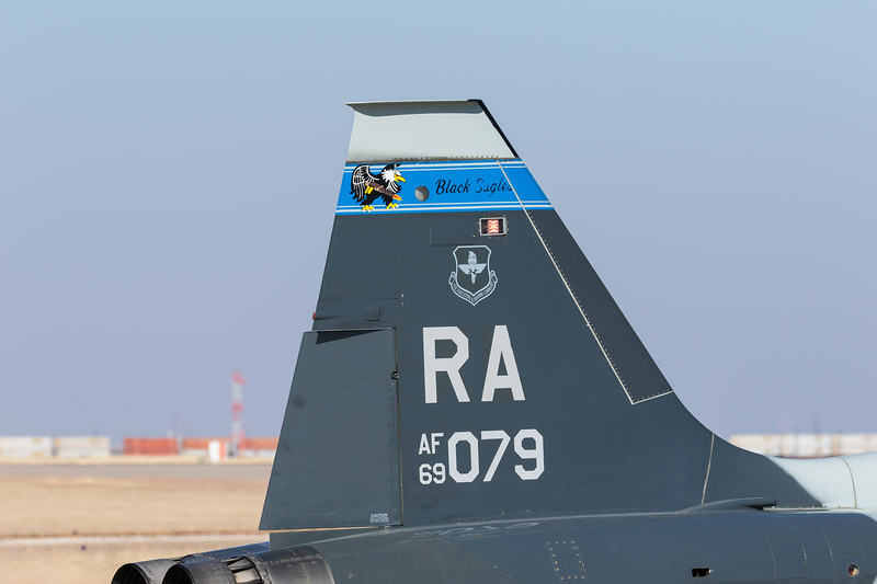 "-(Aircraft) Northrop T-38C Talon<br /> -(Nation & Service) United States Air Force<br /> -(Squadron) 435th Fighter Training Squadron ""Deadly Black Eagles""<br /> -(Home Base) Randolph Air Force Base, Texas"