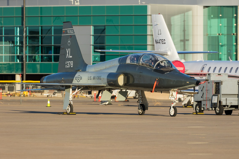 "-(Aircraft) Northrop T-38C Talon<br /> -(Nation & Service) United States Air Force<br /> -(Squadron) 87th Flying Training Squadron ""Red Bulls""<br /> -(Home Base) Laughlin Air Force Base, Texas"