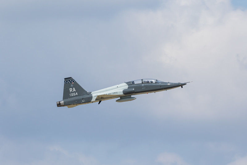 "-(Aircraft) Northrup T-38C Talon<br /> -(Nation & Service) United States Air Force<br /> -(Squadron) 560th Flying Training Squadron ""Chargin Cheetahs"" <br /> -(Home Base) Randolph Air Force Base, Texas"