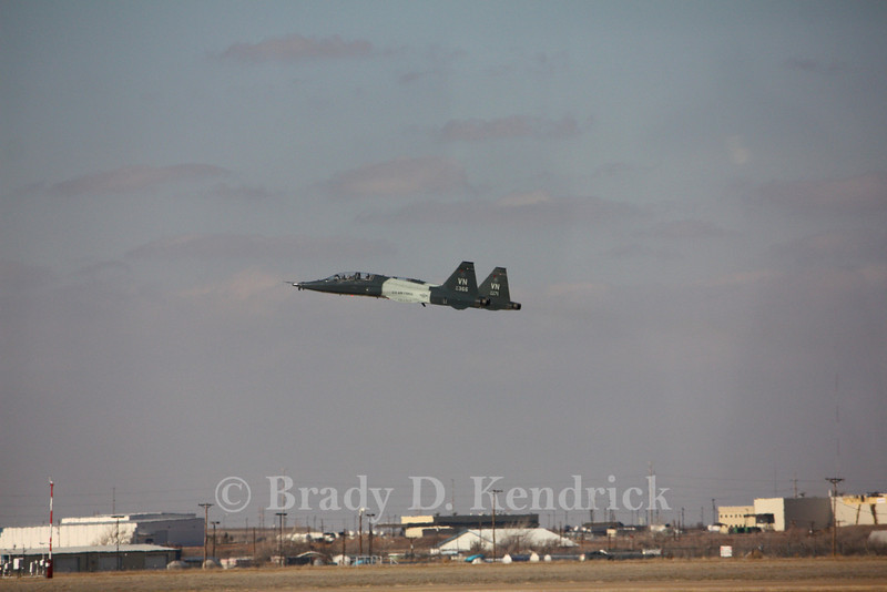 """-(Aircraft) Northrop T-38C Talon<br /> -(Nation & Service) United States Air Force<br /> -(Squadron) 25th Flying Training Squadron """"Shooters"""" <br /> -(Home Base) Vance Air Force Base, Oklahoma"""