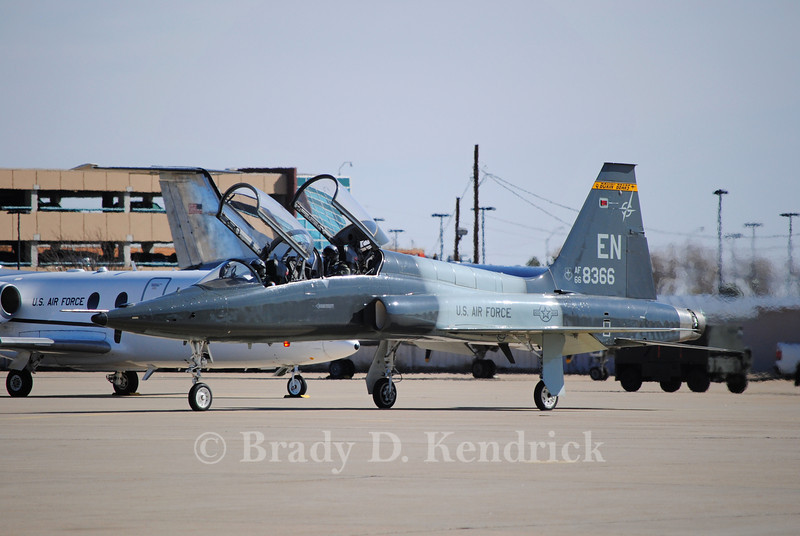 "-(Aircraft) Northrop T-38C Talon<br /> -(Nation & Service) United States Air Force<br /> -(Squadron) 90th Flying Training Squadron ""Boxin Bears"" <br /> -(Home Base) Sheppard Air Force Base, Texas"