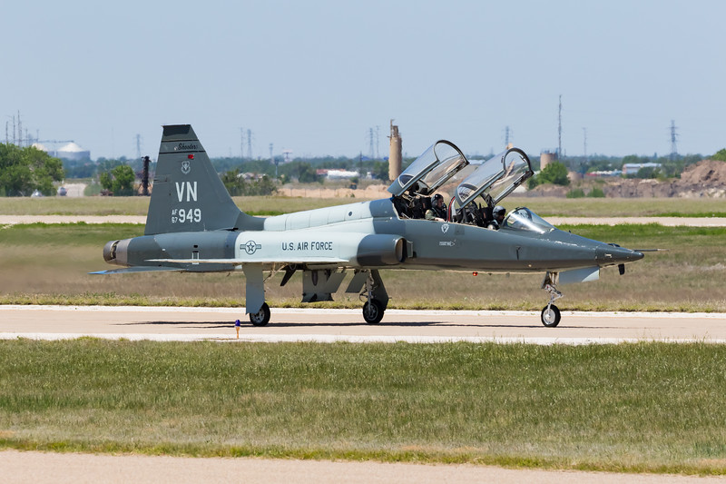 "-(Aircraft) Northrop T-38C Talon<br /> -(Nation & Service) United States Air Force<br /> -(Squadron) 25th Flying Training Squadron ""Shooters"" <br /> -(Home Base) Vance Air Force Base, Oklahoma"