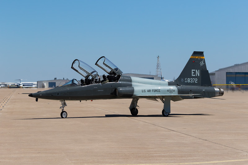 "-(Aircraft) Northrop T-38C Talon<br /> -(Nation & Service) United States Air Force<br /> -(Squadron) 90th Flying Training Squadron ""Boxing Bears""<br /> -(Home Base) Sheppard Air Force Base, Texas"
