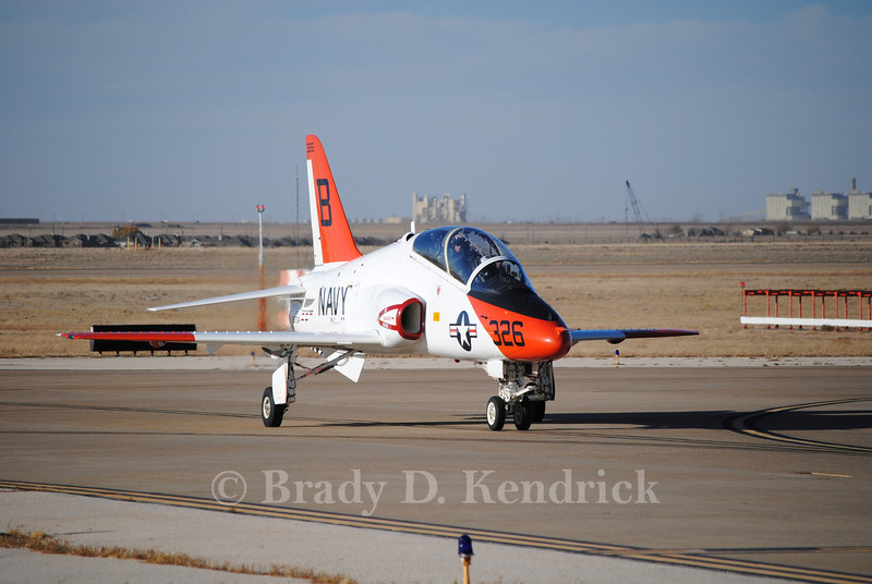 "-(Aircraft) McDonnell Douglas T-45 Goshawk<br /> -(Nation & Service) United States Navy<br /> -(Squadron) Training Squadron 21""Redhawks"" <br /> -(Home Base) Naval Air Station Kingsville, Texas"