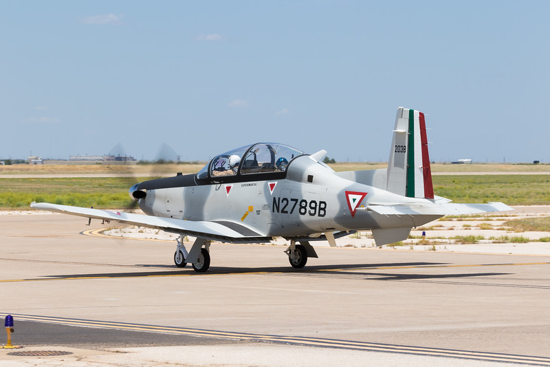 -(Aircraft) Beechcraft T-6C+ Texan II<br /> -(Nation & Service) Fuerza Aérea Mexicana (Mexican Air Force)