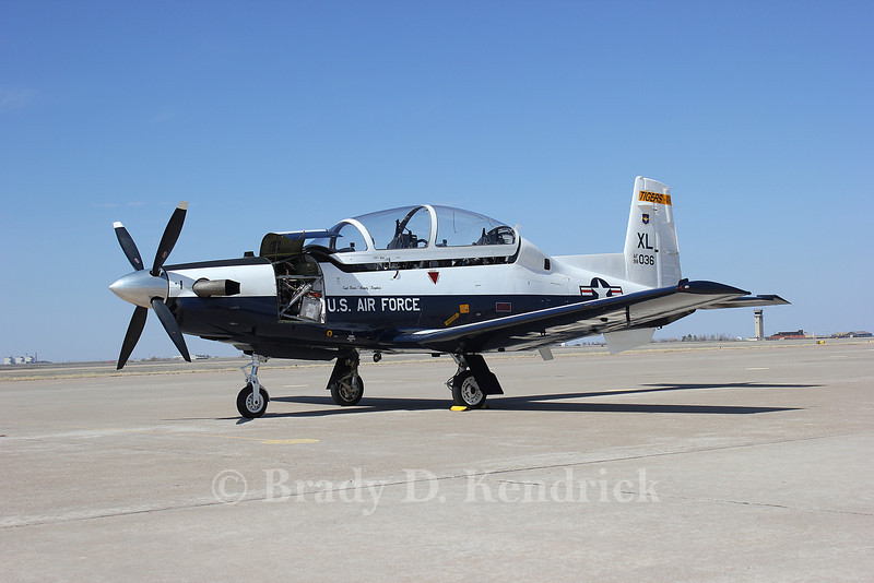 "-(Aircraft) Beechcraft T-6 Texan II<br /> -(Nation & Service) United States Air Force<br /> -(Squadron) 85th Flying Training Squadron ""Tigers""<br /> -(Home Base) Laughlin Air Force Base, Texas"