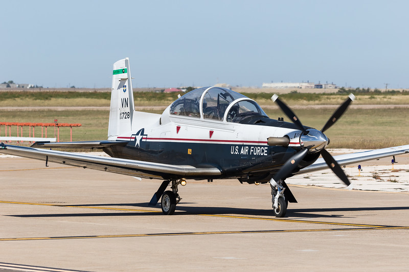 -(Aircraft) Beechcraft T-6 Texan II<br /> -(Nation & Service) United States Air Force<br /> -(Squadron) 8th Flying Training Squadron<br /> -(Home Base) Vance Air Force Base, Oklahoma