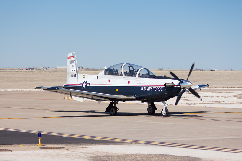 "-(Aircraft) Beechcraft T-6A Texan II<br /> -(Nation & Service) United States Air Force<br /> -(Squadron) 89th Flying Training Squadron ""Banshees""<br /> -(Home Base) Sheppard Air Force Base, Texas"
