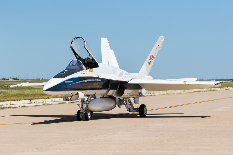 -(Aircraft) McDonnell Douglas F/A-18A Hornet<br /> -(Nation & Service) United States National Aeronautics and Space Administration<br /> -(Operator) Armstrong Flight Research Center<br /> -(Home Base) Edwards Air Force Base, California