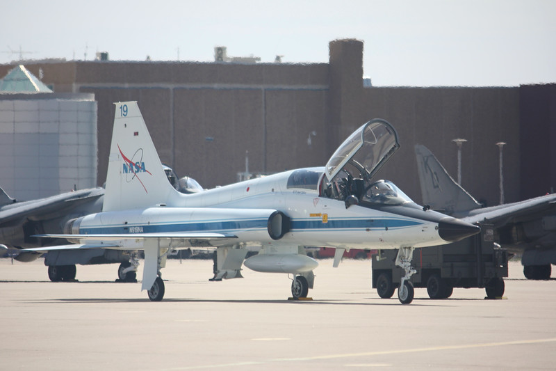 -(Aircraft) Northrup T-38 Talon <br /> -(Nation & Service) United States National Aeronautics and Space Administration