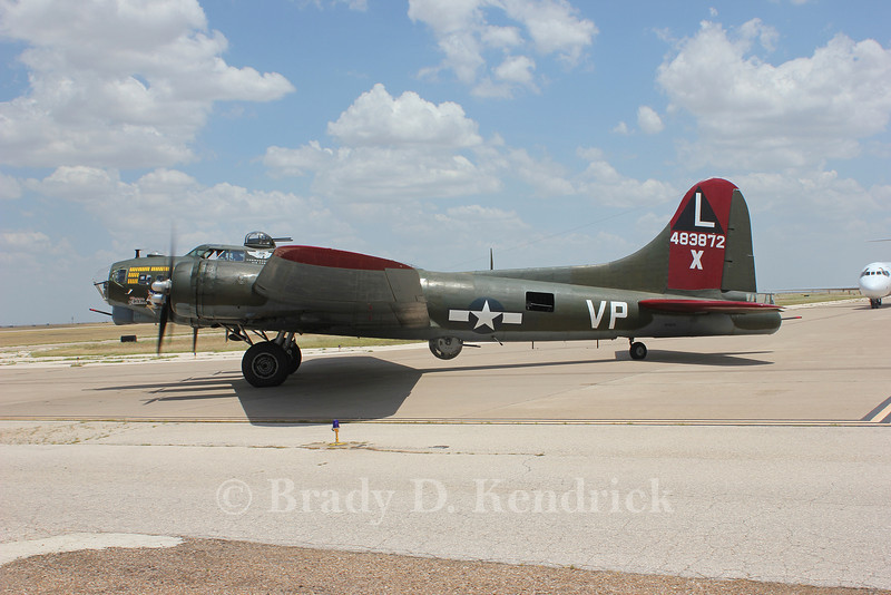 "-(Aircraft) Boeing B-17G Flying Fortress <br /> -(Operator) Commemorative Air Force<br /> -(Name) ""Texas Raiders"""