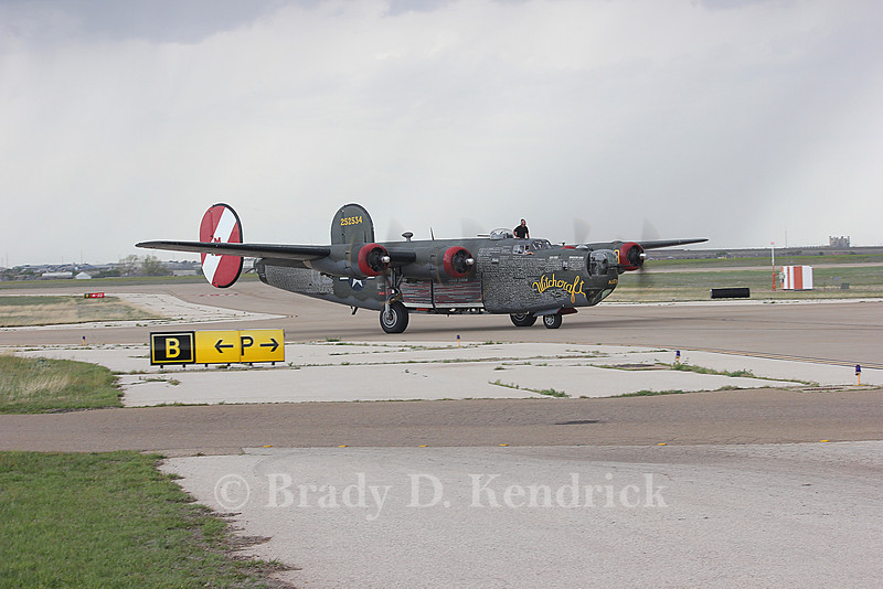 Aircraft Type:  Consolidated B-24J Liberator<br /> <br /> Photo Location:  Rick Husband International Airport in Amarillo, Texas