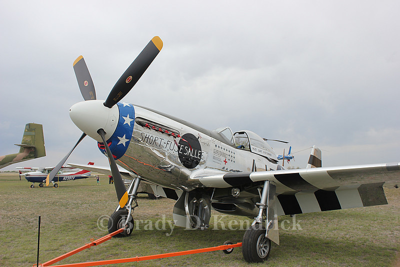 Aircraft Type:  North American P-51 Mustang<br /> <br /> Photo Location:  Rick Husband International Airport in Amarillo, Texas