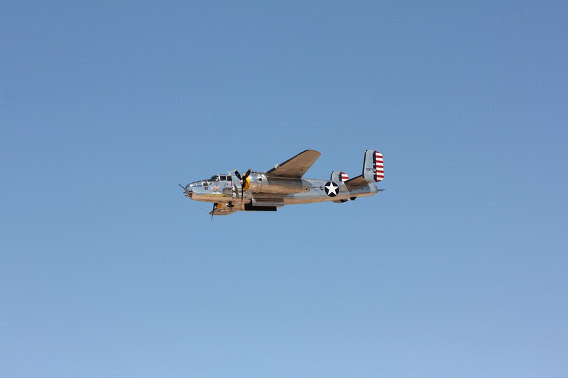 -(Aircraft) North American B-25J Mitchells<br /> -(Name) Pacific Prowler