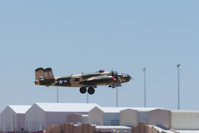 -(Aircraft) North American B-25J Mitchells