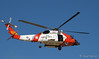 US Coast Guard helicopter 6023 based in San Diego is seen at the 2009 Heroes Airshow in Los Angeles