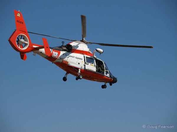 USCG 6584, an Aerospatiale MH-65C Dauphin at American Heroes Air Show 2010