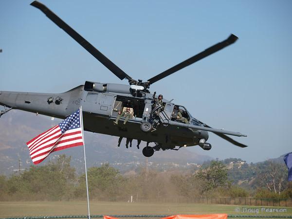 USAF Pave Hawk 26310 departing American Heroes Air Show 2010