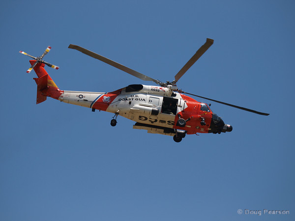 USCG helicopter 6032 at American Heroes Air Show 2010