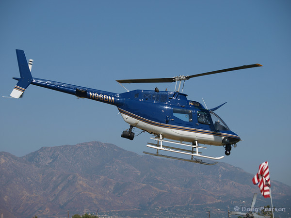 Pasadena Police Helicopter N96ZBM at Hansen Dam for American Heroes Air Show 2010