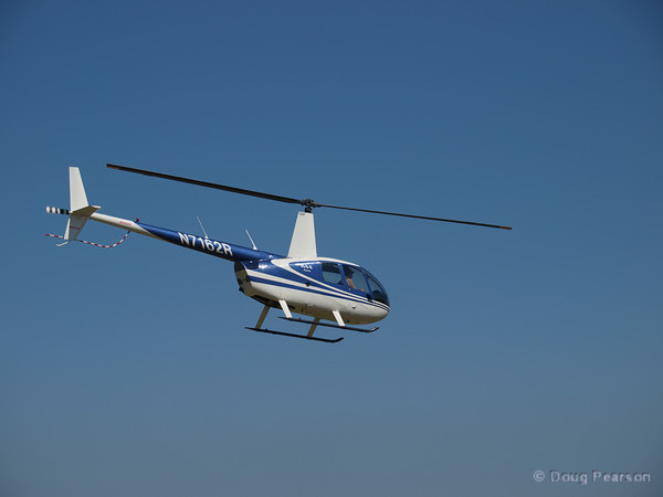 Helicopter N7162R, a Robinson R44 at American Heroes Air Show 2010