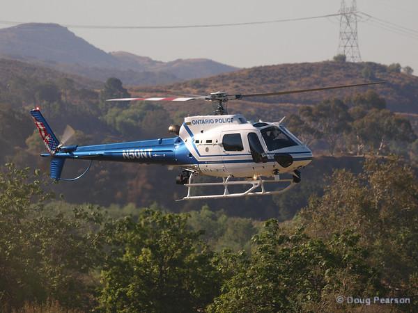 Ontario PD N50NT landing at Hansen Dam for American Heroes Airshow 2012.