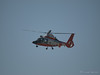 USCG 6584 a Eurocopter MH-65 AS365 Dauphin 2 arrives at Hansen Dam for American Heroes Airshow 2012.