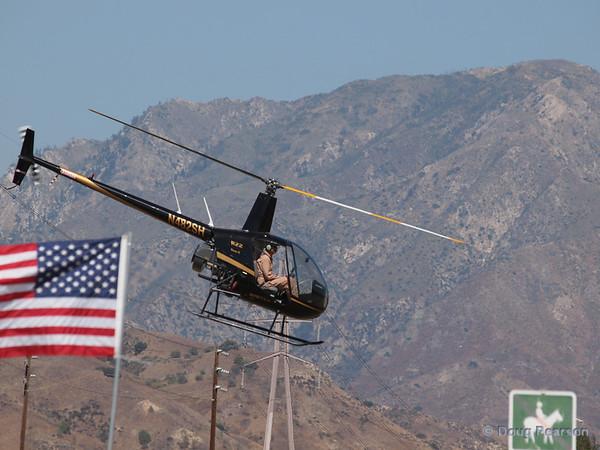 N482SH leaving American Heroes Airshow 2012